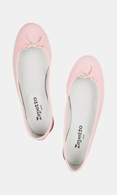 The Cendrillon leather ballet flats - for when you need pale pink.