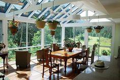 Formidable Idee Deco Veranda Aménagée En Salle à Manger, Une Abondance Deu2026