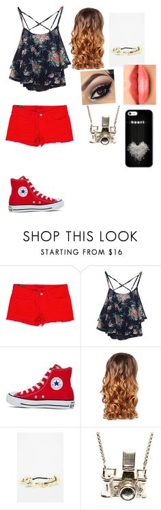 """Untitled #29"" by destineer5 ❤ liked on Polyvore featuring J Brand, Converse, Lipsy, Chanel, Kiel Mead Studio, women's clothing, women, female, woman and misses"