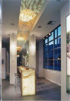 residential onyx bar
