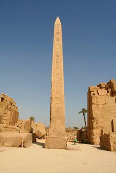 Hatshepsut's Obelisk at Karnak, Luxor.