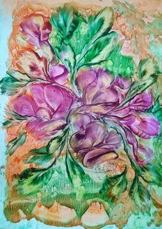 Art Flowers, Flower Art, Painting, Ideas, Art Floral, Painting Art, Paintings, Painted Canvas, Thoughts