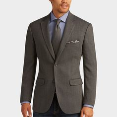Buy a Awearness Kenneth Cole Gray Herringbone Slim Fit Sport Coat and other Sport Coats at Men's Wearhouse. Browse the latest styles, brands and selection in men's clothing.