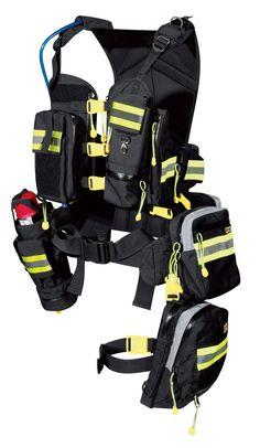 A prepared swim vest