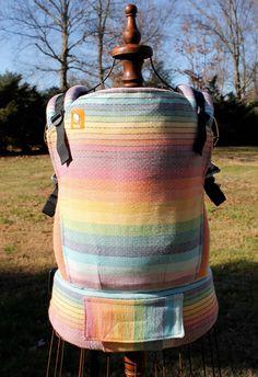 Girasol Vice Versa Diamond Weave (Customized by CRANBERRY CREEK KIDS) Tula Baby Carrier