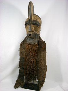Songye Kifwebe Kilume Mask, DR Congo http://www.imodara.com/item/dr-congo-songye-kifwebe-power-mask-kilume-male-mask/