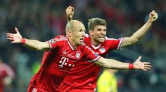 Champions League Bayern Beat Dortmund 2-1. Arjen Robben scores late to lift Champions League Trophy at Wembley. www.dudesustainable.com #dudesustainable