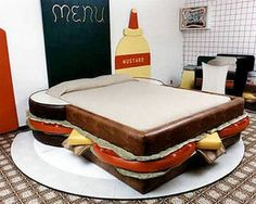 This is the funniest bed I've ever seen!
