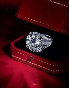 Cartier diamond engagement ring