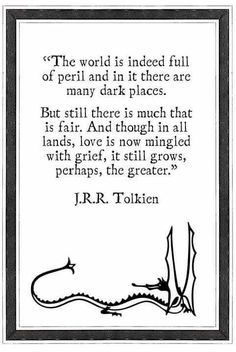 Dragon and Tolkien