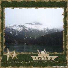 scrapbooking alaska | Alaska again - Digital Scrapbooking Layout Gallery - Scrapbook MAX!