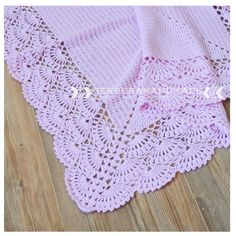 Crochet baby blanket - PINK crocheted Baby Girl Blanket and Baby wrap blanket - Ready to ship