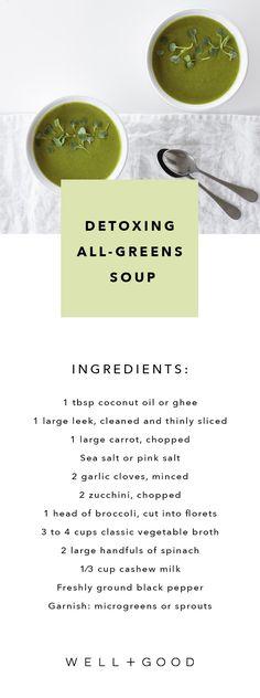 All greens soup recipe