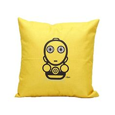 Ikeelife Alien Throw Pillow Case Cushion Cover Pillowslip Sofa Home Decor Yellow 454503cm >>> Continue to the product at the image link.