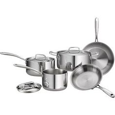 Tramontina Gourmet 8-Piece 18/10 Stainless Steel Tri-Ply Clad Cookware Set Tramontina http://www.amazon.com/dp/B008QNU300/ref=cm_sw_r_pi_dp_dHuQub13AE7D9