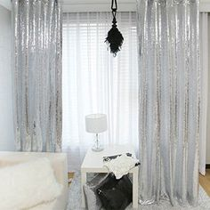 New Year 80 Off Sequin Silver Curtains Select You Size 4FT8FT Sparkly Fabric Photography Backdrop Best Wedding Home Party Fashio