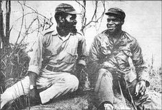 Samora Machel and Eduardo Mondlane - freedom fighters Pan Africanism, African Nations, Black African American, Freedom Fighters, Samar, African American History, Black Love, Revolutionaries, Communism
