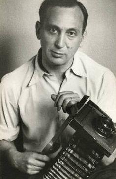 André Kertész - self portrait with camera, 1936