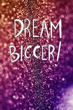 We want you to DREAM bigger and bigger everyday!  http://wp.me/p53buE-1Kp #dreams #lifestyle #life #goodvibes #stylebehind