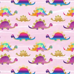 Dinos Pink Single Jersey, perfect for children clothing project and crafts sewing Projects For Kids, Craft Projects, Flamingo Fabric, Dinosaur Fabric, Dinosaur Design, Best Stretches, Fabulous Fabrics, Poland, Sewing Crafts