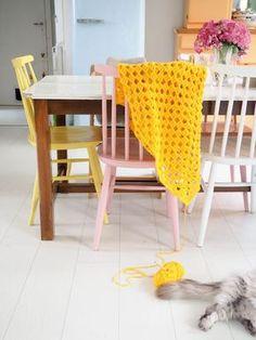 plaid au crochet XXL patron DIY