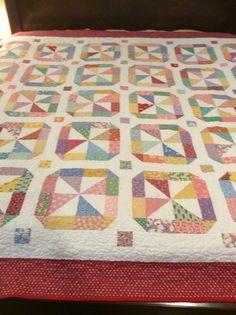 Quilting Ideas, Quilt Patterns, Miniature Quilts, Scrappy Quilts, Quilt Designs, Vintage Quilts, Square Quilt, Pinwheels, Quilt Blocks