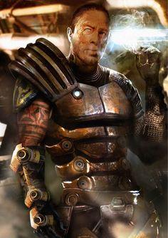 Zaeed from Mass Effect