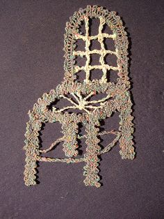ok, not brill but interesting to do Photo Work, Bobbin Lace, My Photos, Embroidery, Chair, Diamond, Blue, Jewelry, Picasa