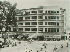 Swarha building (around 1960). It was built for Asia Africa Conference's guests in 1955. But now it becomes an abandoned building...huhuhu too bad!