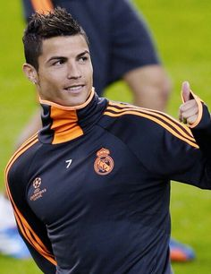 Cristiano Ronaldo. I'd do just about anything for this man.