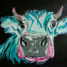 #Cow paint by me