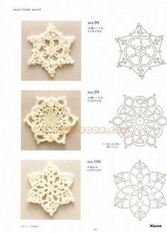 ergahandmade: Crochet Snowflakes