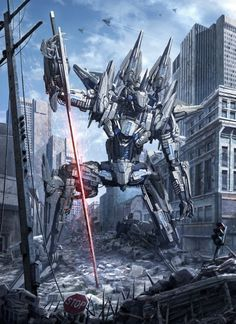 Répertoire Image Fantasy - Page 702 Mecha Suit, Gundam Wallpapers, Arte Robot, Cool Robots, Transformers, Gundam Art, Robot Concept Art, Mecha Anime, Robot Design