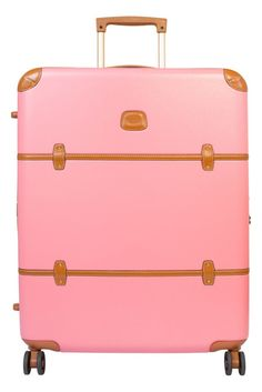 Bric's Luggage | All 40% off! .. How cute is this pink suitcase?!