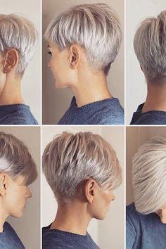 Pixie 360 From @irinagamess  #hair #hairstyles #pixie #shorthair #shorts #shortstyles  #haircut #bobhairstyles #pixiecut #hairtutorials