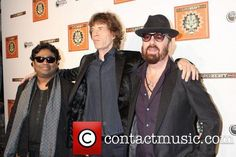 A.R.Rahman, Mick Jagger and Dave Stewart Members of