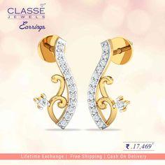 Jewels Online, Gold Jewelry, Jewellery, Gold Diamond Earrings, Shop, Collection, Jewels, Gold Jewellery, Schmuck