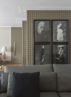 Helena Lunardelli revela seu apartamento em São Paulo (Foto: Evelyn Müller/Divulgação)
