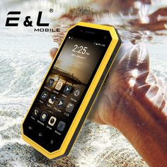 >> Click to Buy << E&L W6 Original China Smartphone Android Waterproof Shockproof Phone Ip68 Screen Touch Mobile Phones Unlocked Cell Phones 4G Lte #Affiliate