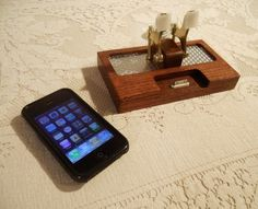 Steampunk iPhone & iPod Dock -Charger and Sync Station.. #geekingout