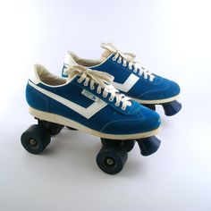 Sneaker Roller Skates Vintage 1970s Men's by purevintageclothing