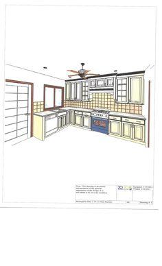 New Addition 2020 Design  Kitchen Design 2020 Cad Drawings Custom Kitchen Design Drawings Inspiration Design