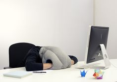 "OSTRICH PILLOW,   The ""Revolutionary"" Portable Nap Maker  They're on kickstarter!  http://www.kickstarter.com/projects/ostrich-pillow/ostrich-pillow $75 gets you one."