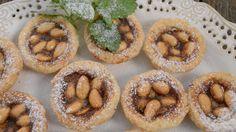 Sicilské mandlové koláčky Onion Rings, Doughnut, Cheesecake, Muffin, Breakfast, Ethnic Recipes, Desserts, Food, Cakes