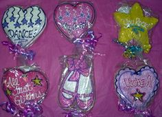 Dance Recital Cookies Brought to you by Cookies In Bloom and Hannah's Caramel Apples   602 955-3030  $6.50