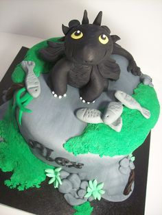 How to train your dragon cake auckland $295