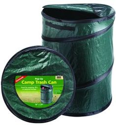 Pop-Up Camp Trash Can...  Everyone hates trying to figure out where to set up the trash bag, and it always just flops over.  So use this, and you will find trash and easy chore! #Camping #Outdoors