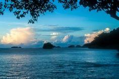 Sunset on Isla Parida, Panama #islaparida