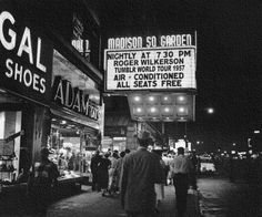 well played mr. rogerwilkerson  Marquee - 1957