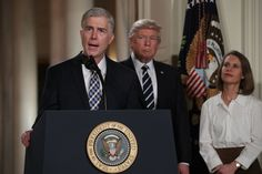 """Here's What Trump's Supreme Court Pick Has Written About Abortion And Birth Control He has ruled against Obamacare's mandatory birth control insurance coverage. He also wrote that """"the idea that human life is intrinsically valuable and that intentional killing is always wrong."""" It sounds to me like he will chose Christian Sharia law over Women's rights to bodily autonomy and decision making. Your religion applies to YOU, not to other people."""
